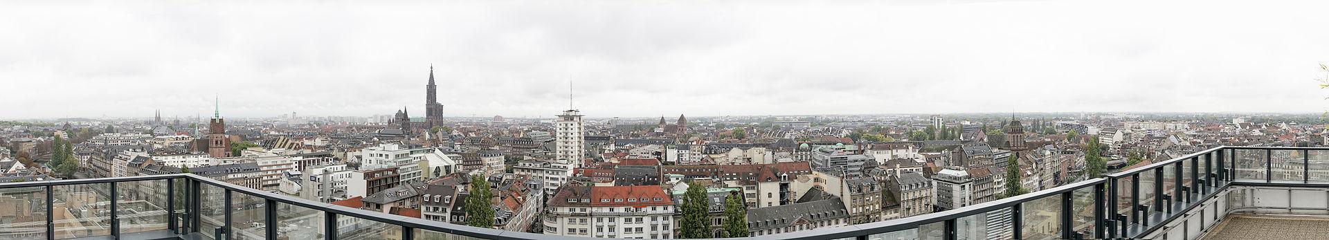 Strasbourg seen from Esca Tower in 2014.jpg