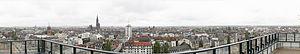 Straatsburg gezien vanaf Esca Tower in 2014.jpg