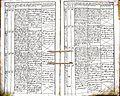 Subačiaus RKB 1832-1838 krikšto metrikų knyga 128.jpg