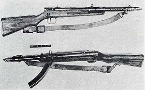 Type 100 submachine gun - Wikipedia