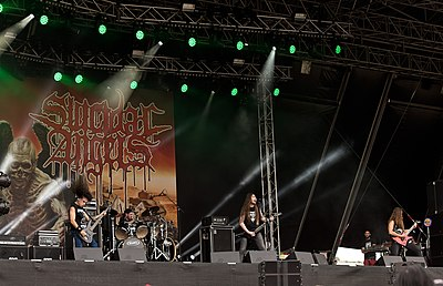 Picture of a band or musician: Suicidal Angels
