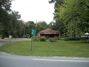 Sumterville, Florida - Sumterville Post Office on US 301.