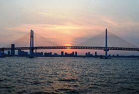 Image illustrative de l'article Pont de la baie de Yokohama