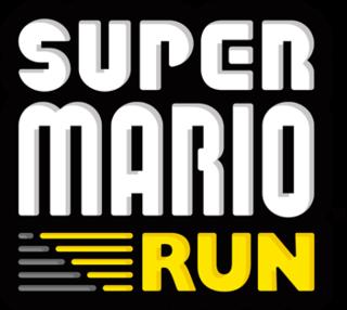 <i>Super Mario Run</i> auto-running Mario smartphone game released in 2016