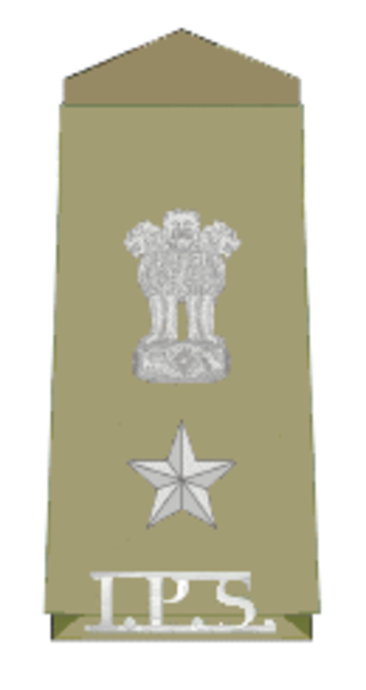 Superintendent of police (India) - Insignia of Superintendent of Police