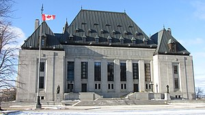 Government of Canada - Supreme Court Building in Ottawa