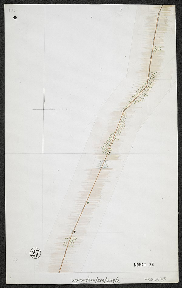 600px survey of telegraph line from melinde to lamu east africa. %28womat afr bea 209 2 27%29