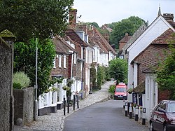 Photograph of the High Street, Sutton Valence