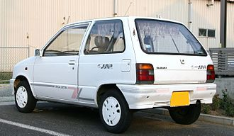 Van - Suzuki Alto Van - note baggage rails in rear side windows