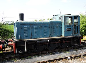 British Rail Class 03 - Image: Swindon & Cricklade Railway ... 2022. (5628082862)