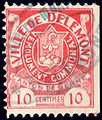 Switzerland Delémont 1908 revenue 10c - 8B.jpg