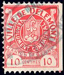 Switzerland Delémont 1908 revenue 10c - 8B.jpg