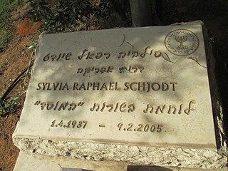 Sylvia Raphael Israeli spy