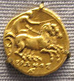 Syrakus, dracma d'oro di hieron II, 274-216 ac..JPG
