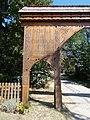Székely gate (1998), detail, 2020 Piliscsaba.jpg
