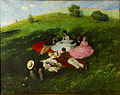 Szinyei Merse, Pál - Picnic in May - Google Art Project.jpg