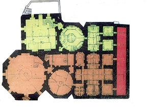 Bey Hamam - Floorplan of Bey Hamam