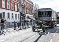 THE EASTER SUNDAY PARADE - SOME MILITARY HARDWARE USED BY THE IRISH ARMY (CELEBRATING THE EASTER 1916 RISING)-112956 (26005890641).jpg