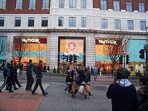 TK Maxx - TK Maxx on The Headrow in Leeds