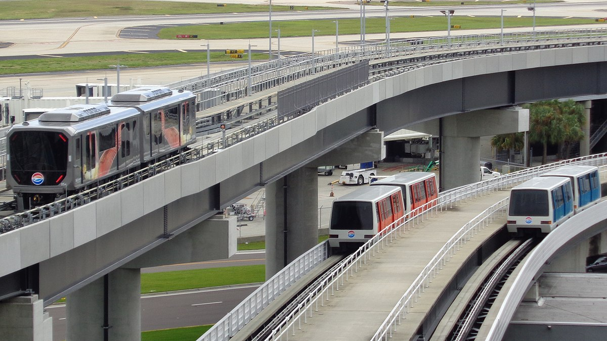 List Of Airport People Mover Systems Wikipedia