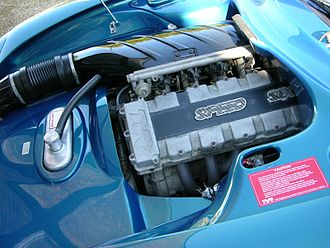 TVR Speed Six engine - Engine installed in a TVR Cerbera