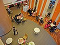 TW 台灣基隆市仁愛區愛三路 116 Keelung McDonalds Restaurant 麥當勞餐廳 interior n visitors from bird's eye view Feb-2013.JPG