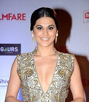 Taapsee Pannu - Taapsee at the 61st Filmfare Awards in 2016.