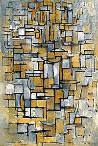 Tableau no 1, Piet Mondrian, 1913.jpg