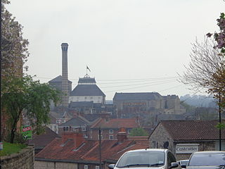 Tadcaster town in the Selby district of North Yorkshire, England