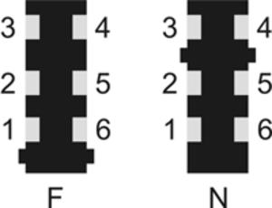 TAE connector - TAE socket