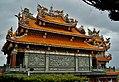 Taipeh Guandu Temple Haupthalle Rückseite 5.jpg