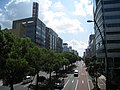 Takamatsu Chuo-dori in Tenjinmae view south.jpg