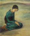 TakehisaYumeji-1920-Blue Kimono.png