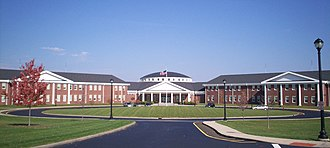 Tallmadge High School - Image: Tallmadge High School front