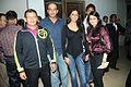 Talwalkars launched Zumba Fitness Programme in India, Prashant Talwalkar, Ashutosh Gowariker, Sunita Gowariker.jpg
