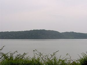 Tanasi - The Tanasi site, looking northwest from the Tanasi monument