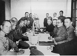 Tanggu Truce - Tanggu Truce negotiations
