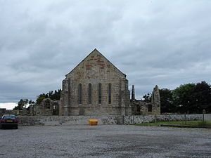 Abbot of Fearn - The ruins of Fearn Abbey today, adjacent to the church.