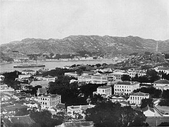Gulangyu - View of the International Settlement c. 1908