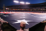 Team Whiteman performs flag detail during ALCS 151016-F-PD075-060.jpg