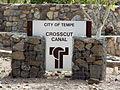 Tempe-Crosscut Canal Marker.JPG