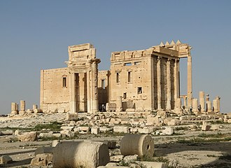 Palmyra - Cella of the Temple of Bel (destroyed in 2015)