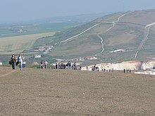 Tennyson Down during Isle of Wight Walking Festival.jpg
