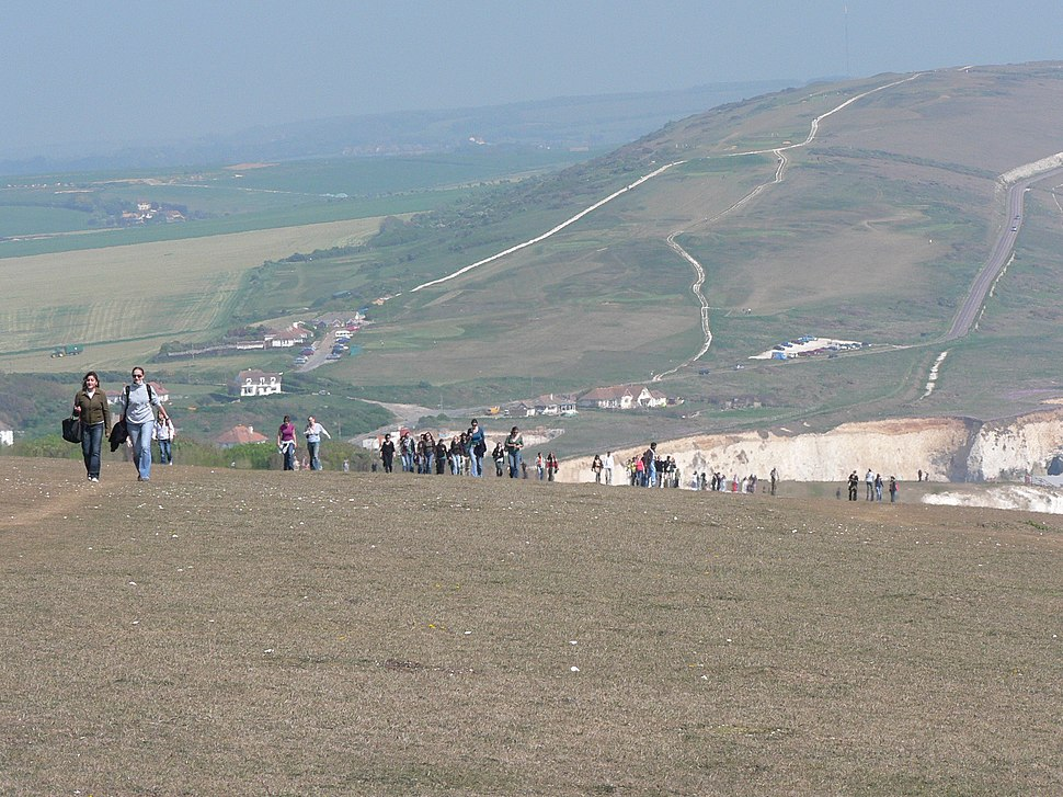 Tennyson Down during Isle of Wight Walking Festival