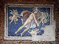 Terme di porta marina, ninfeo con mosaico di marte 02.jpg