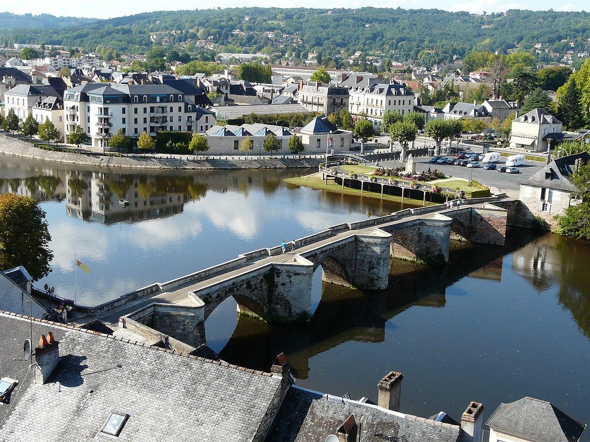 Vieux pont de terrasson wikip dia - Jardins de l imaginaire terrasson ...