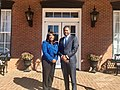 Terri Sewell and Darrio Melton in Selma, Alabama, in 2017.jpg