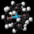Tetrakis(cyclopentadienyl)protactinium(IV)-3D-balls.png