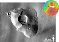 Tharsis Tholus based on THEMIS Day IR.png