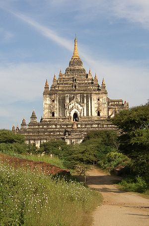 Thatbyinnyu Temple - Thatbyinnyu Temple is 61 metres (201 ft) tall, the tallest in Bagan